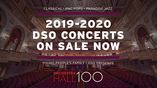 2019-2020 DSO Concert Tickets On Sale Banner